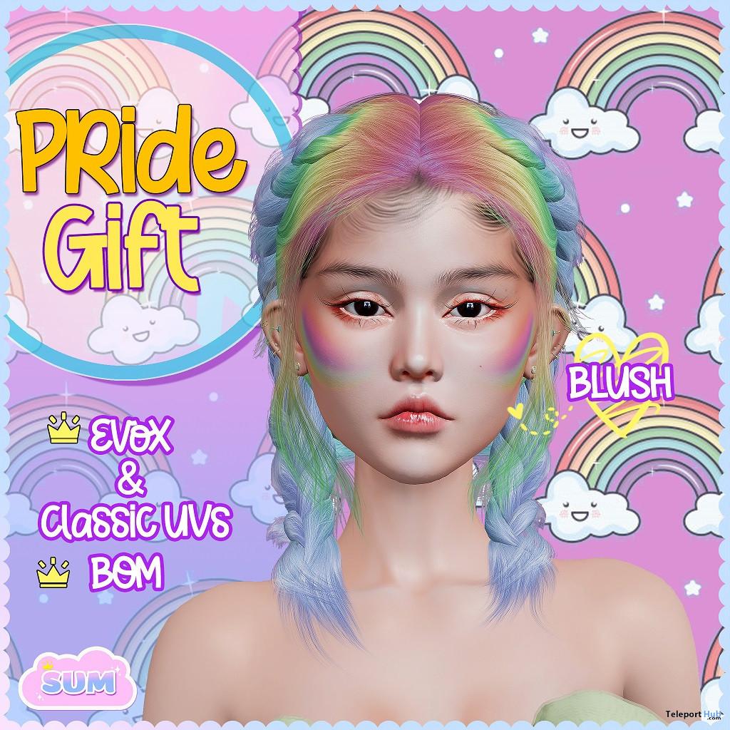 Pride Blush BOM June 2021 Gift by [ SUM ] - Teleport Hub - teleporthub.com