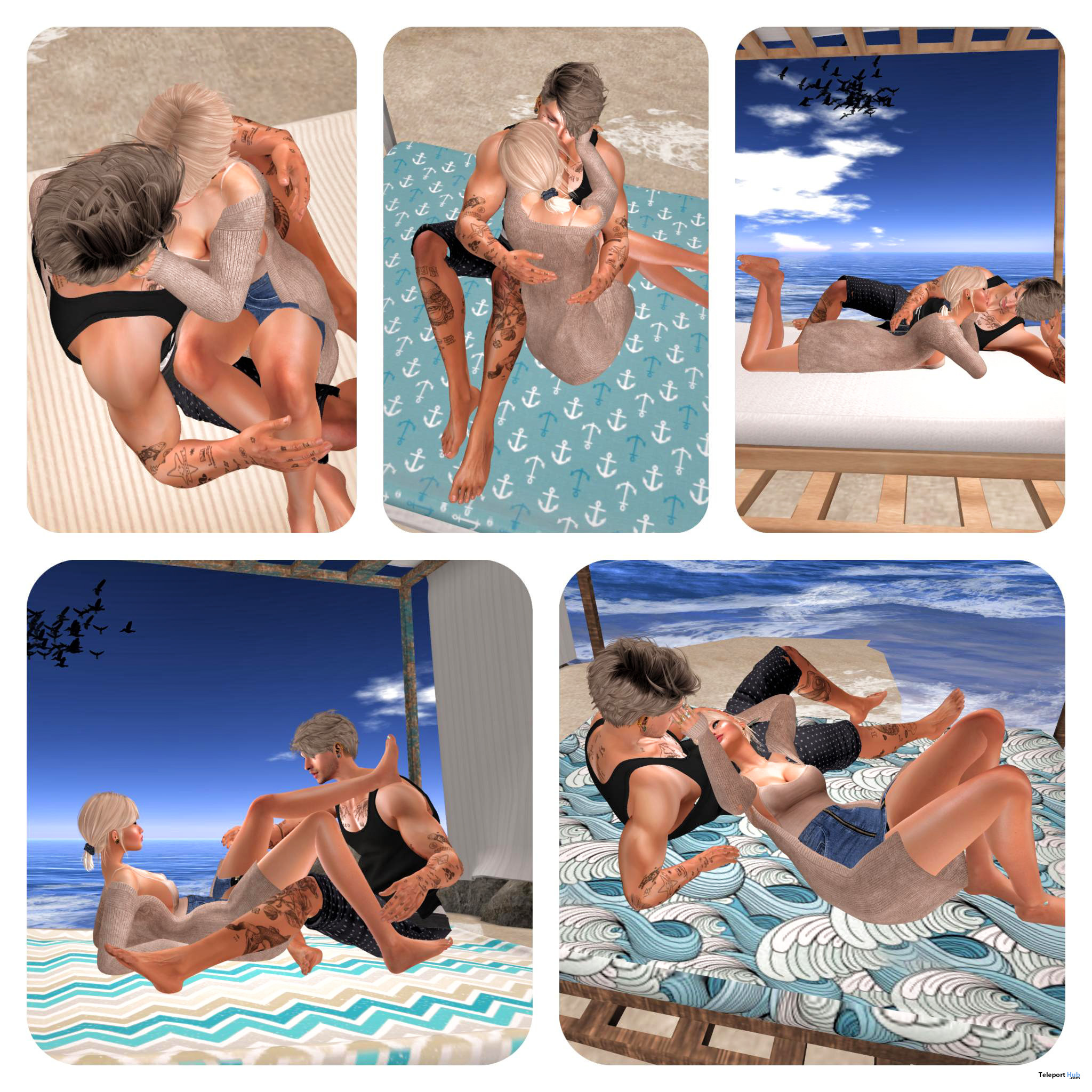 New Release: Canopy Beach Lounger PG & Adult by [satus Inc] - Teleport Hub - teleporthub.com