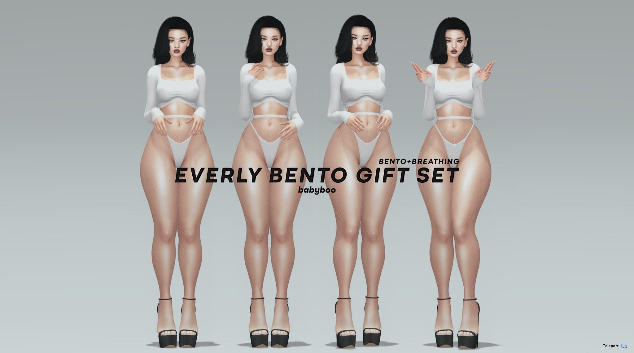 Everly Bento Set July 2021 Group Gift by Babyboo - Teleport Hub - teleporthub.com
