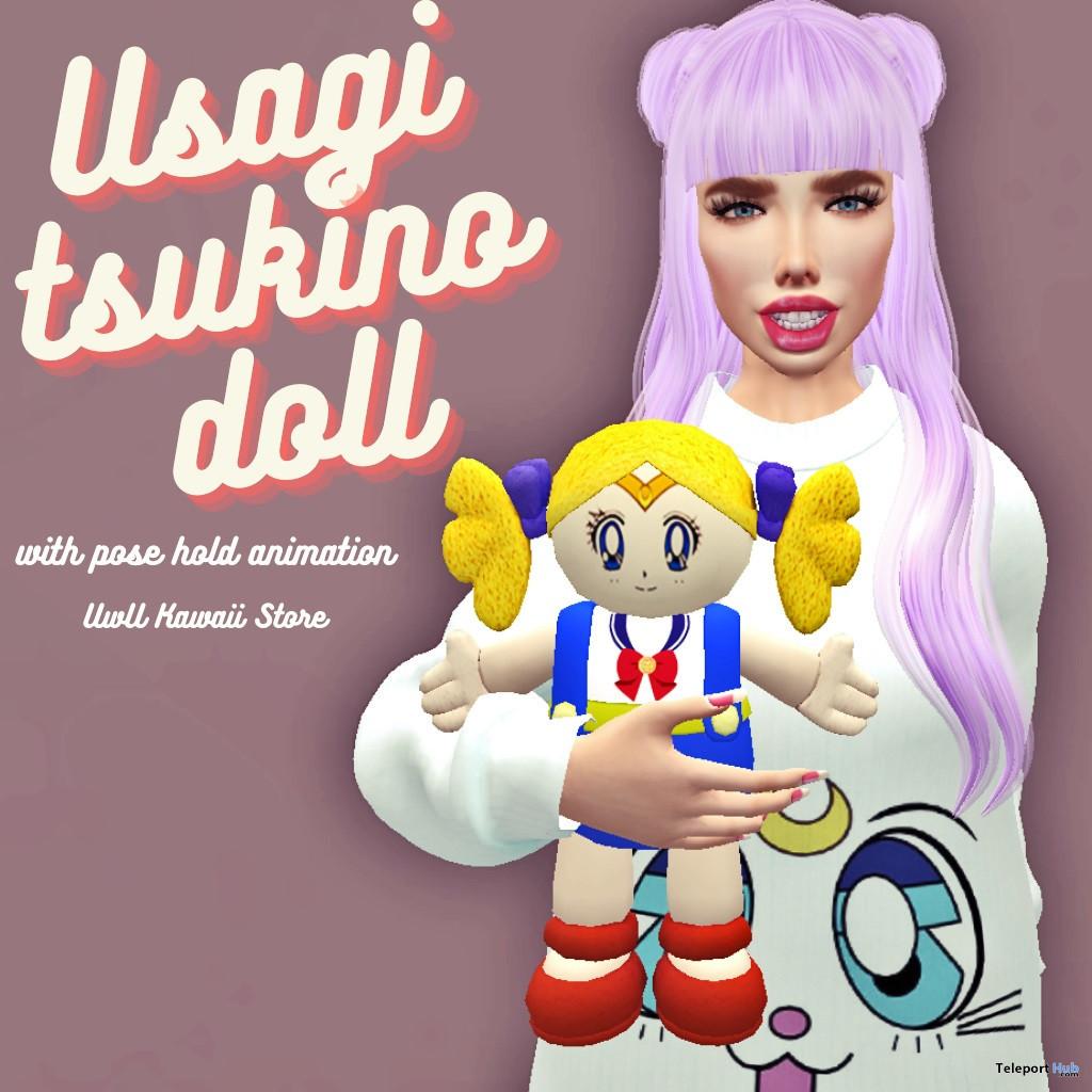 Usagi Tsukino Doll July 2021 Group Gift by UwU Kawaii Store - Teleport Hub - teleporthub.com