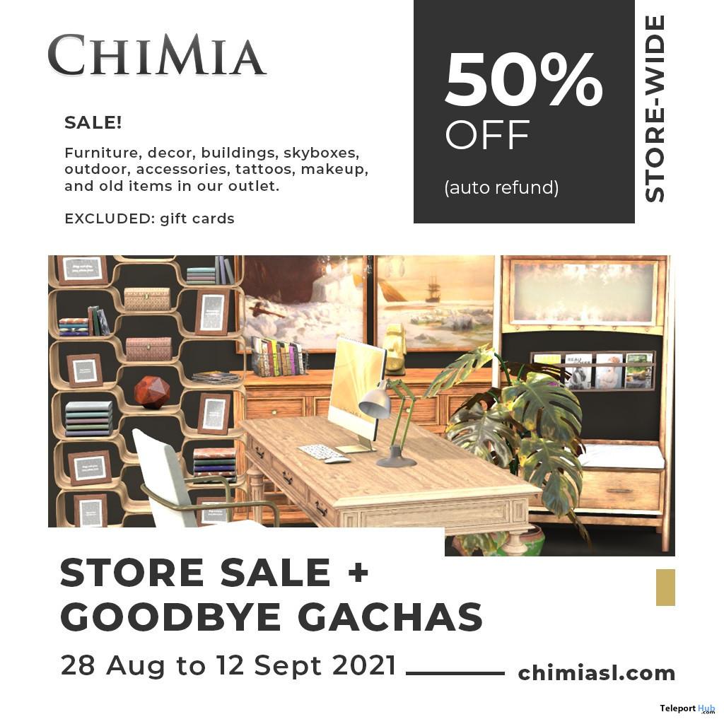 ChiMia 50% Refund Store Wide Sale 2021 - Teleport Hub - teleporthub.com