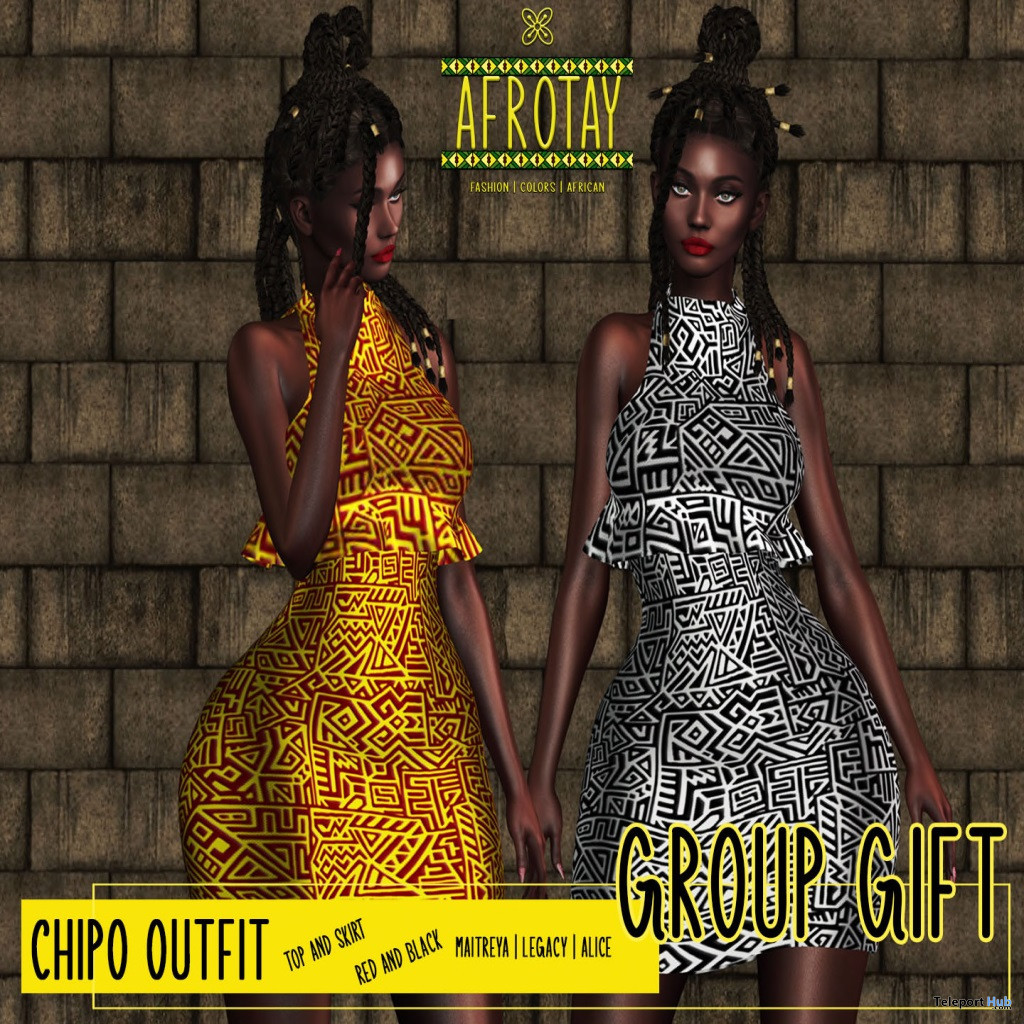 Chipo Dress August 2021 Group Gift by AFROTAY - Teleport Hub - teleporthub.com