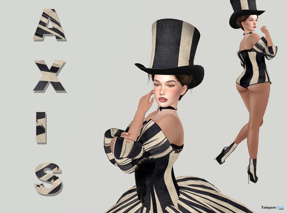Tiffany Shape For Lelutka Lilly 3.1 EvoX 10L Promo by Axis - Teleport Hub - teleporthub.com