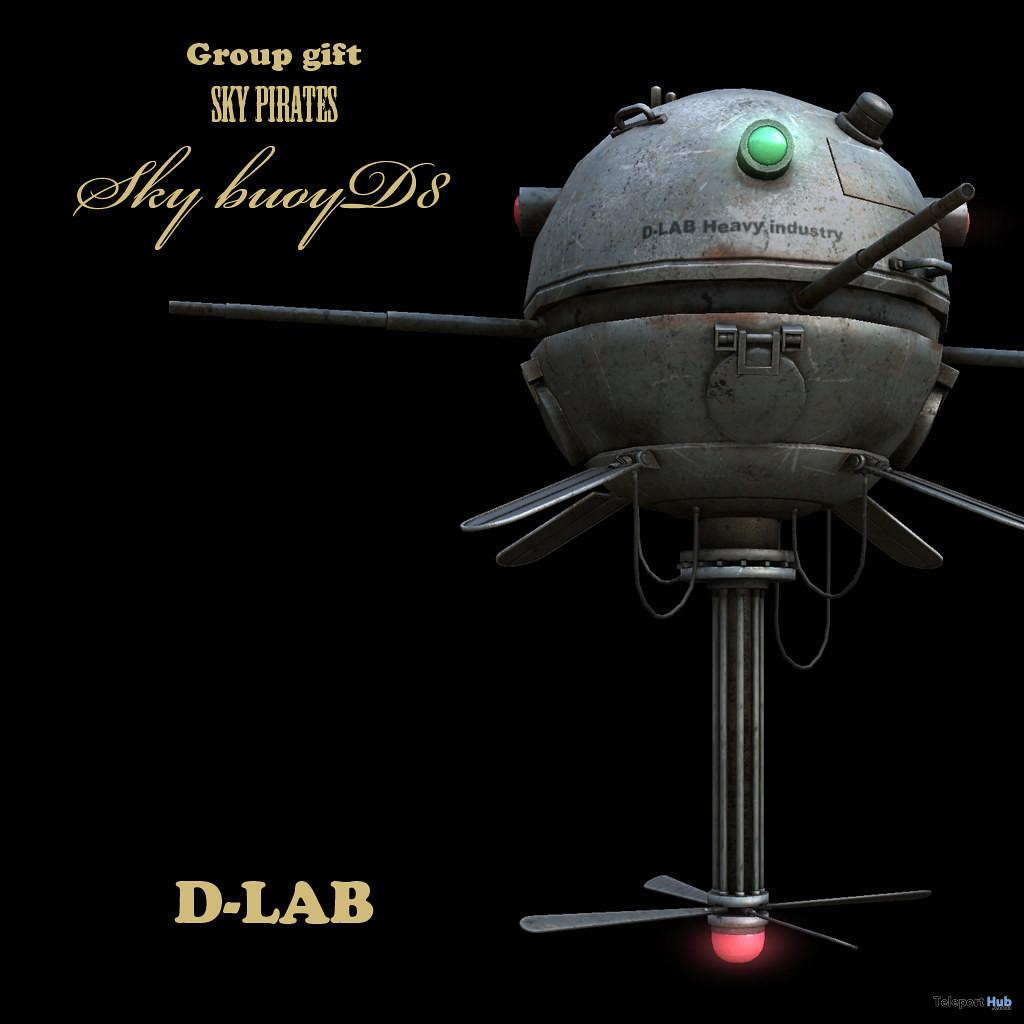 Sky Pirates Sky Buoy 02 September 2021 Group Gift by D-LAB - Teleport Hub - teleporthub.com