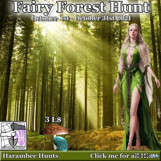 Fairy Forest Hunt 2021 - Teleport Hub - teleporthub.com