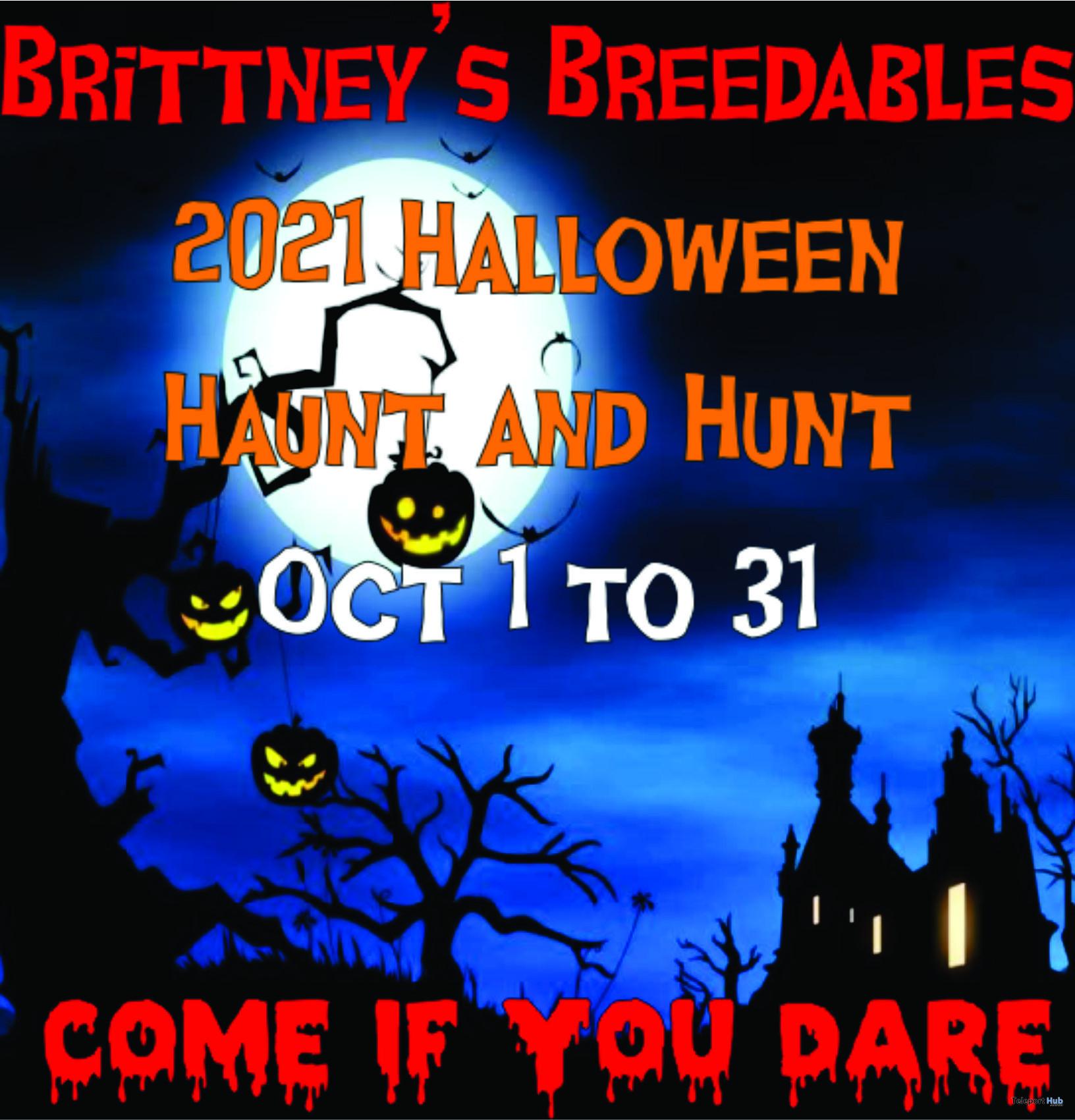 Brittney's Breedables Halloween Haunt & Hunt 2021 - Teleport Hub - teleporthub.com