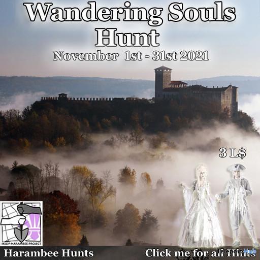 Wandering Souls Hunt 2021 - Teleport Hub - teleporthub.com